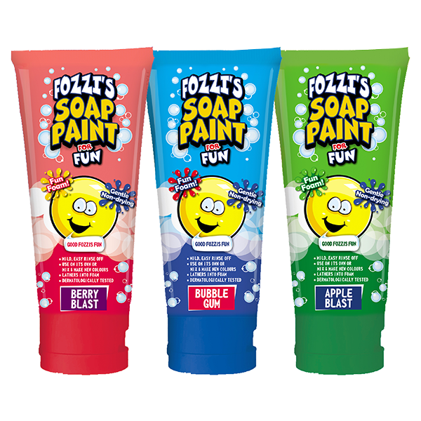 Fozzi's Soap Paint For Fozzi's Fun