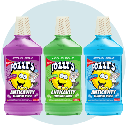 Fozzi's Anticavity Flouride Rinse For Kids