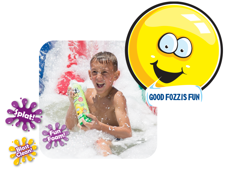 Fozzi's | Formulated to be gentle on your kids skin,
